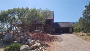 Colorado Springs Complete Exterior Remodel- Before